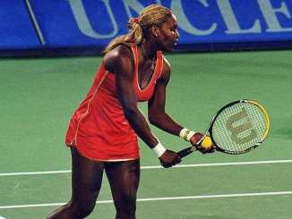 Serena Williams was involved in a tennis meltdown