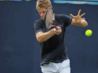 Kevin Anderson is one of the tallest players to play the sport of tennis