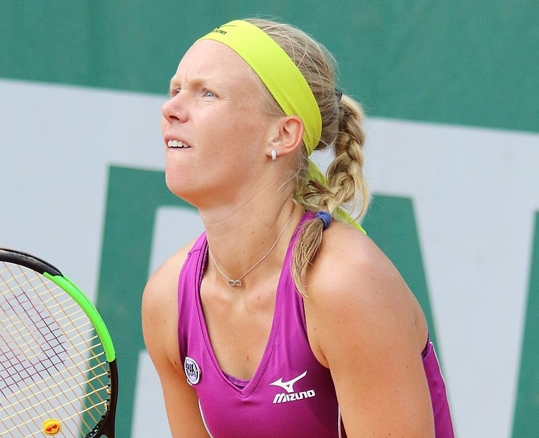 Kiki Bertens will be in action.