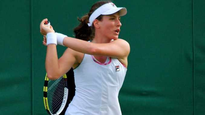 Johanna Konta gives injury update