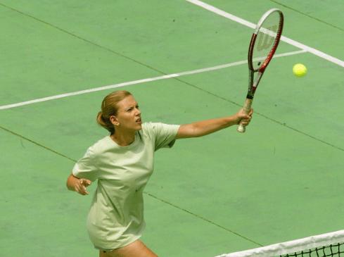 Celebrities who like tennis