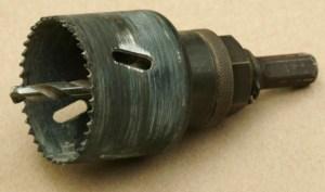 11-hole saw