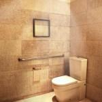 洗練されたトイレデザインのイラスト