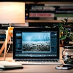 Office Mac パソコン ランプ 照明