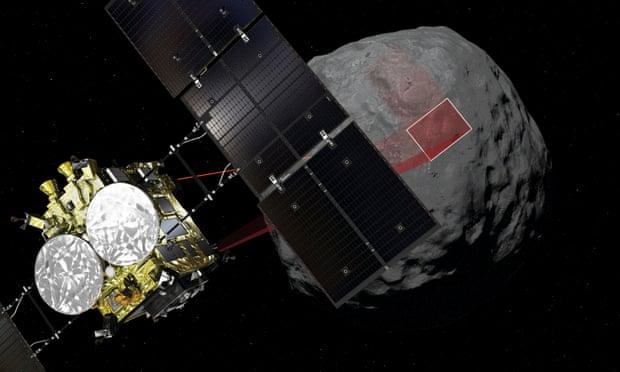 Jepang Berhasil Membom Asteroid dengan Hayabusa 2 untuk Mencari Asal Kehidupan