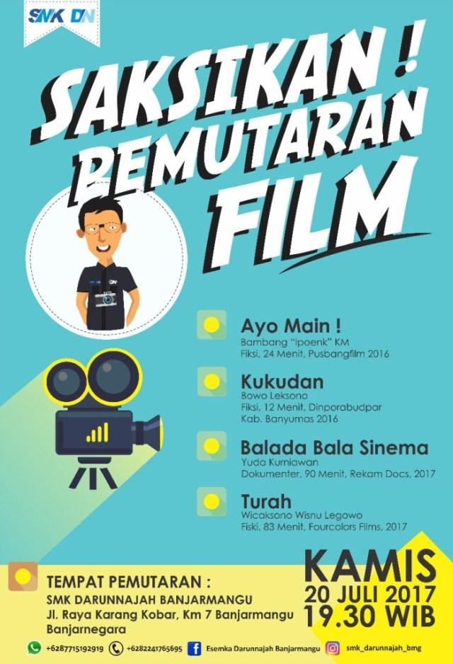 e-pamflet: Pemutaran Film di SMK Darunnajah