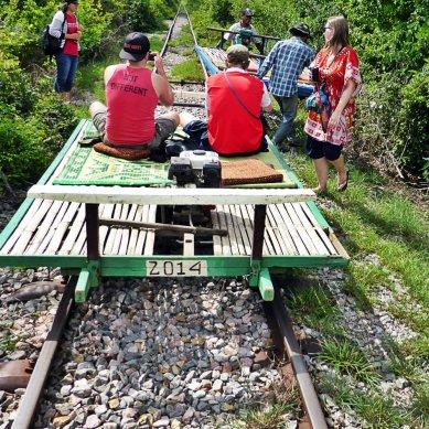 When the bamboo trains meet...
