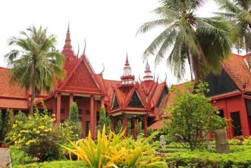 National Museum - garden of the inner yard