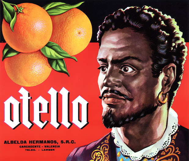 Because nothing makes me want oranges more than a Moor with anger issues.