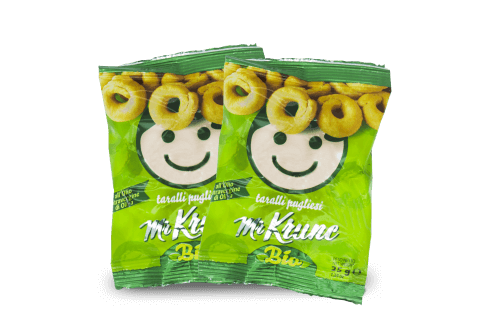 Linea Snack Mr. Krunc - Tarallini BIO all'Olio EVO