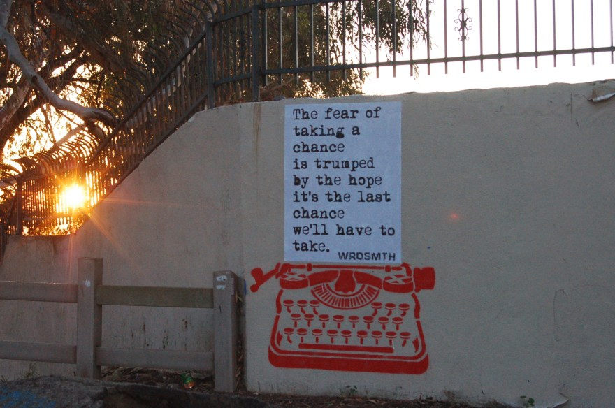 """trump"" by WRDSMTH. Photo courtesy of the artist."