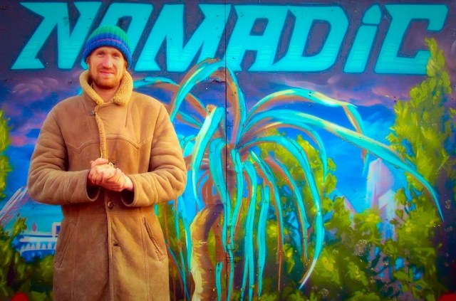 James Wheale, co-founder and Director, Nomadic Community Gardens