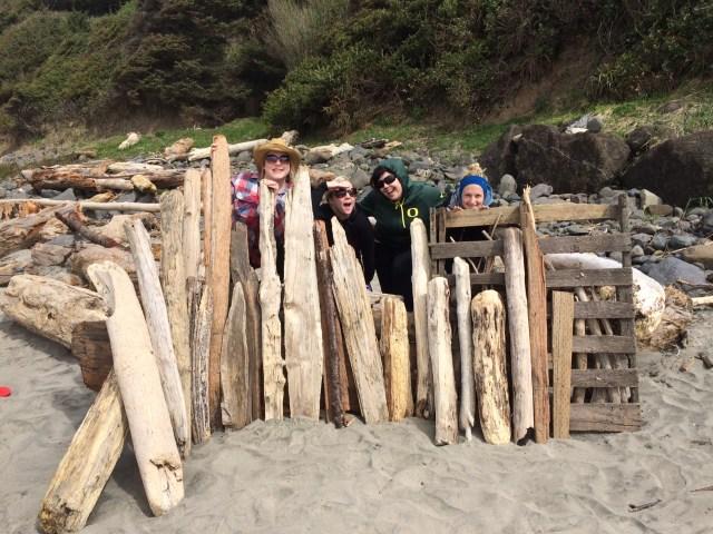driftwood kids-free weekend Oregon coast