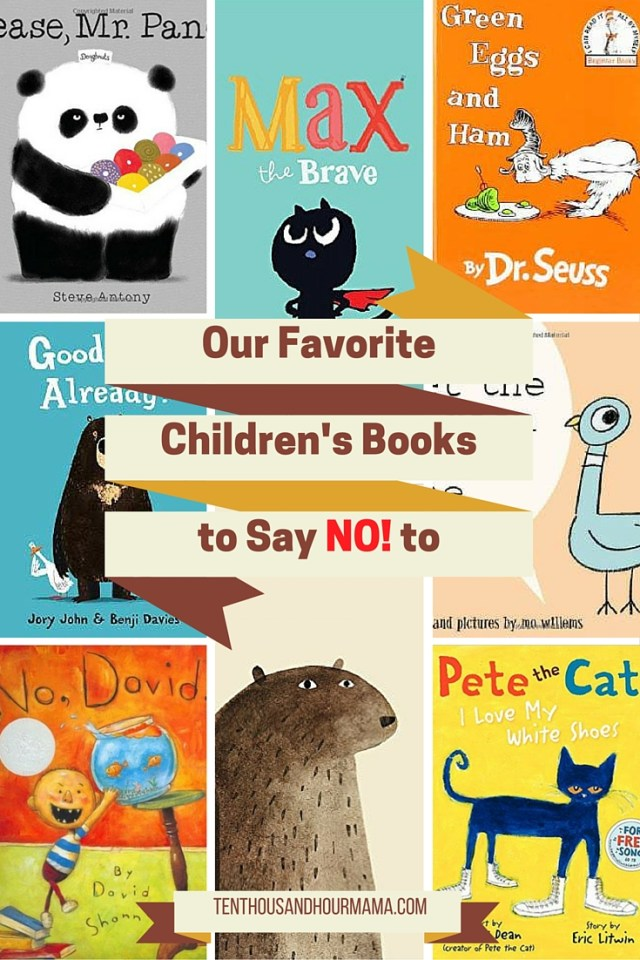 Favorite Children's Books to Say No To