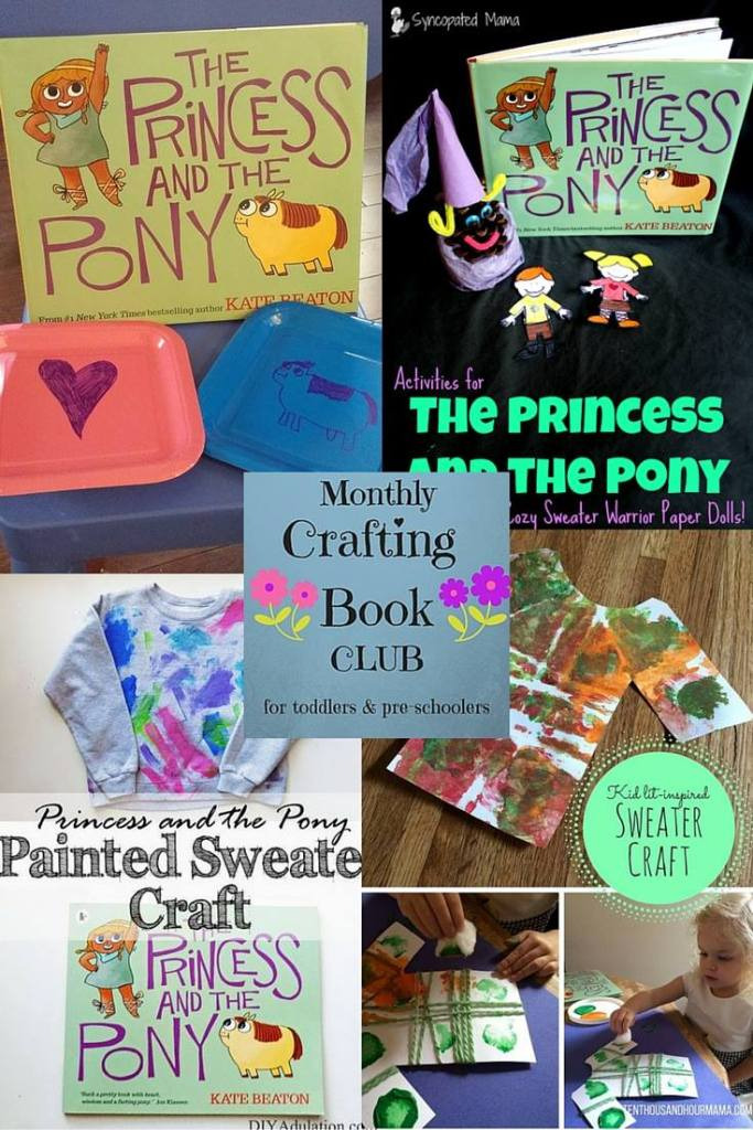 Princess and the Pony monthly crafting book club