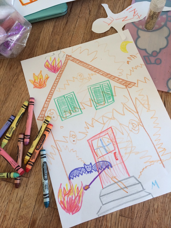 You don't have to be an artist to get creative with your kids! Drawing a picture together is just one way to dive in. Ten Thousand Hour Mama
