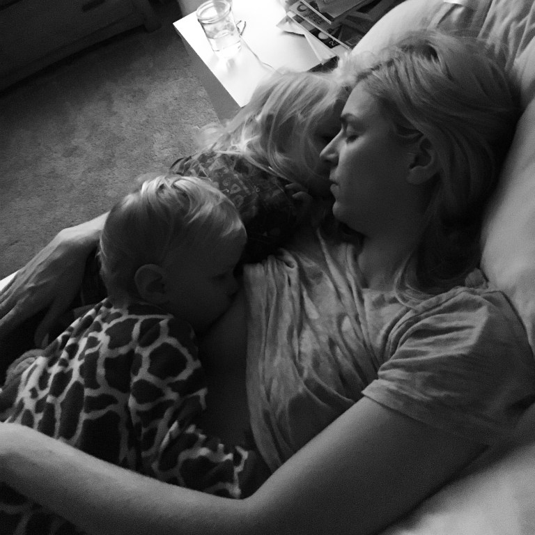 Motherhood // daughters // breastfeeding // tender moments // family photography // Ten Thousand Hour Mama
