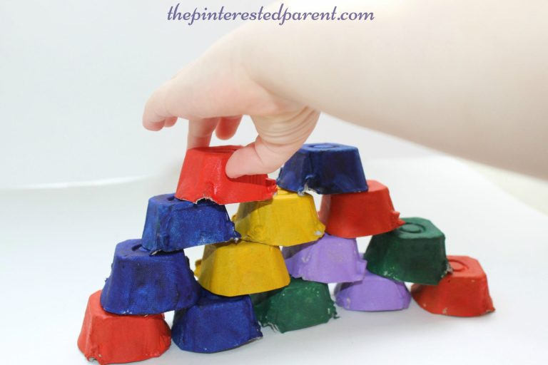 10 best egg carton crafts ideas for kids // upcycled and recycled art // Ten Thousand Hour Mama