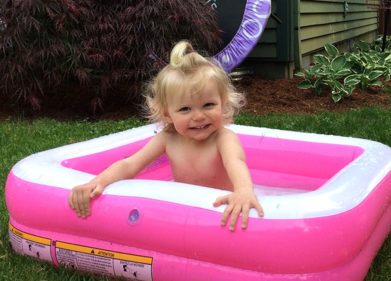 Living with a spirited toddler, who's almost 2 years old, is challenging—but fun. Ten Thousand Hour Mama