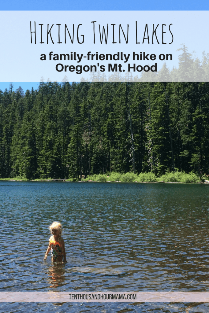 This kid friendly hike on Mt. Hood to Twin Lakes is perfect for family travel outside Portland, Oregon! Ten Thousand Hour Mama