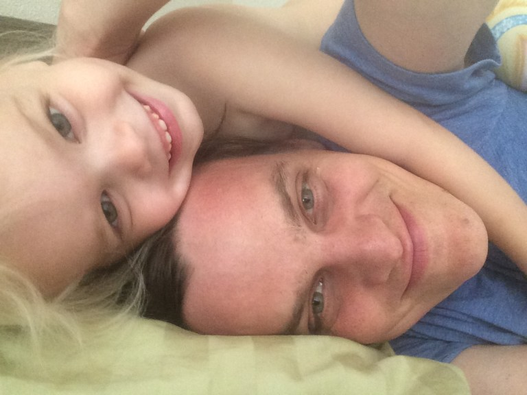 This preschooler has a whole lotta love to share. Ten Thousand Hour Mama