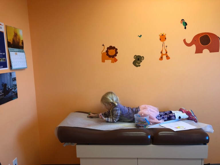 Easy, surprising ways to entertain kids at the doctor's office. Ten Thousand Hour Mama