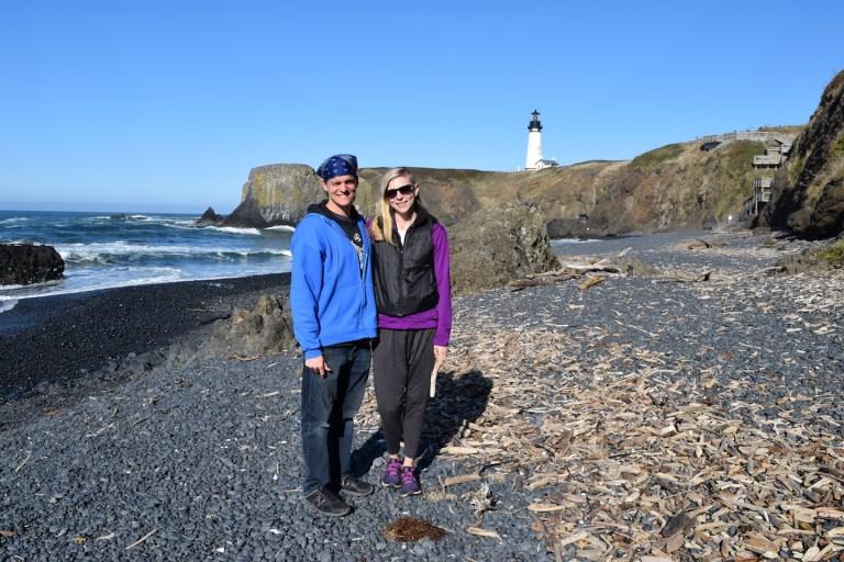 Yaquina Head Lighthouse Oregon Coast - Ten Thousand Hour Mama