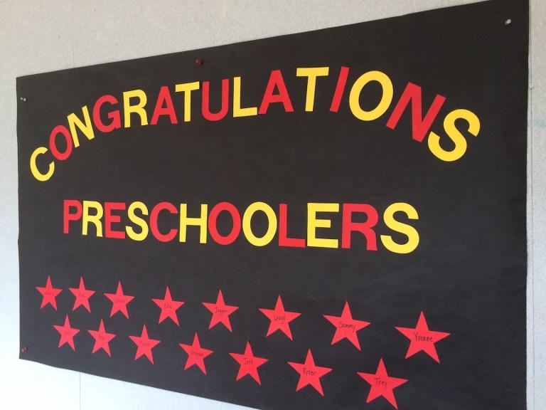 Last day of preschool sign- Ten Thousand Hour Mama