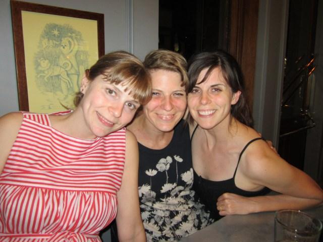 Sister reunion in Berkeley