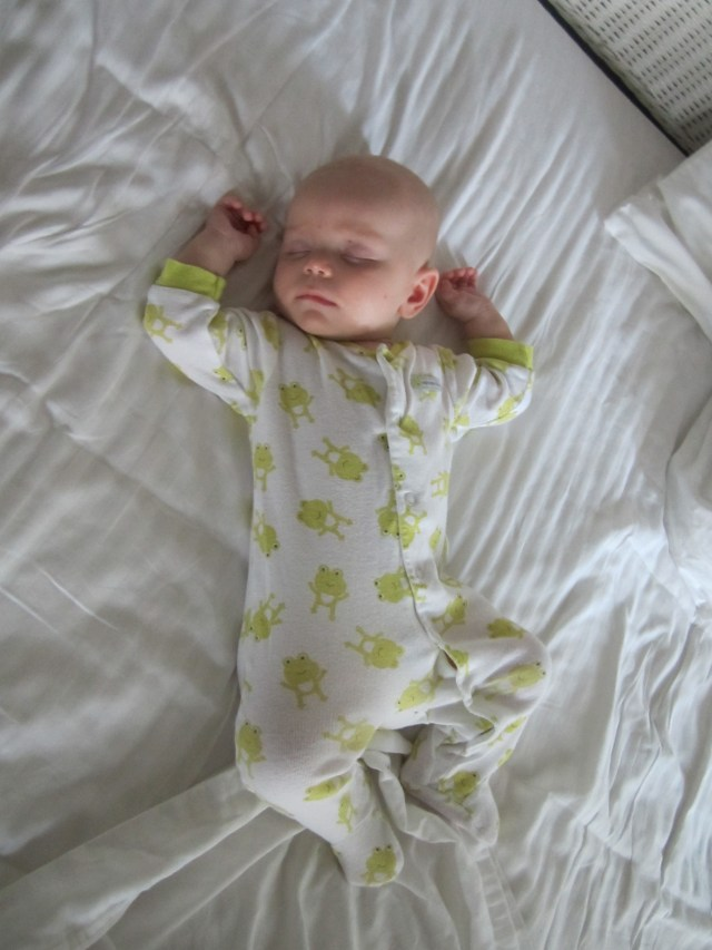 Is there anything sweeter than a soundly sleeping baby?