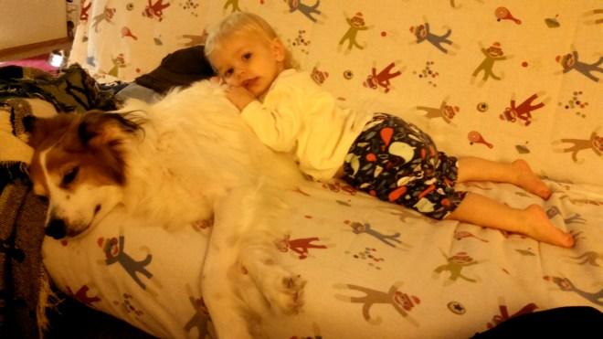 Finn hug - Ten Thousand Hour Mama
