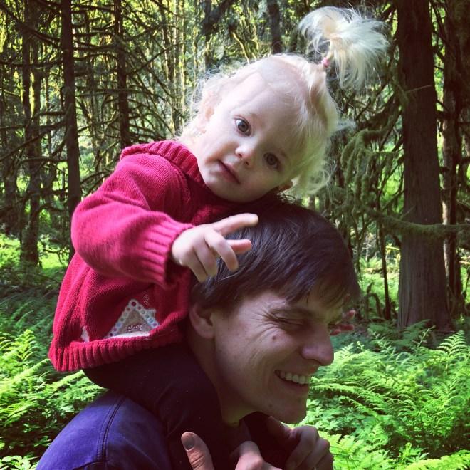 Milo McIver State Park hike toddler