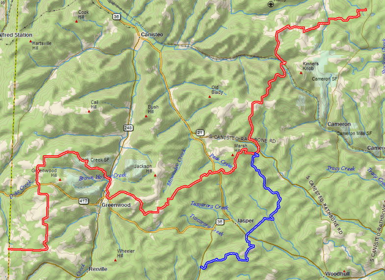 Ten Towns Snowmobile Club      Trail Maps C1 and S 10 trails