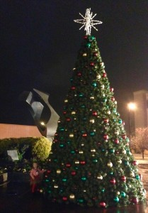 Huntington's Christmas Tree