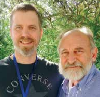 Steve and Eitan near Jerusalem last month