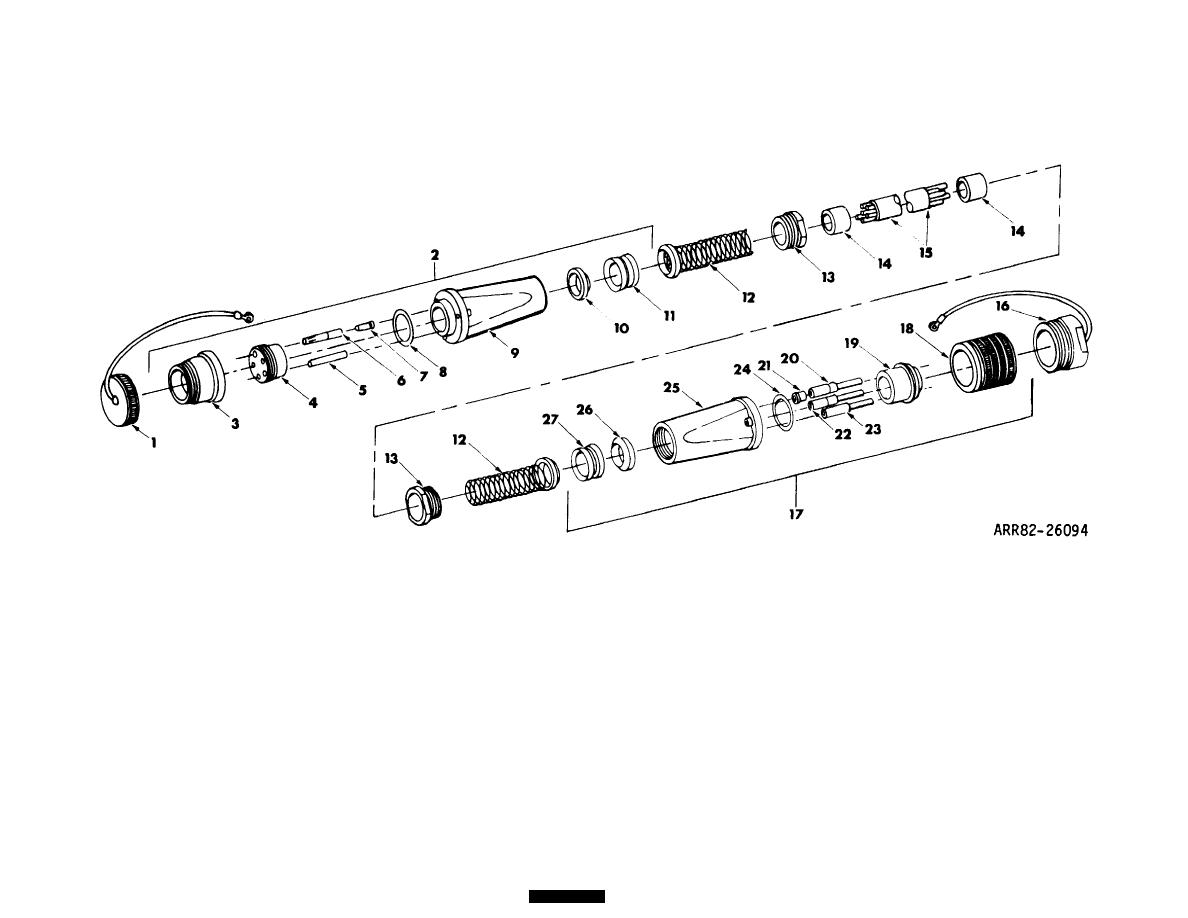 Figure 21 Cable Assembly Power Electrical 100