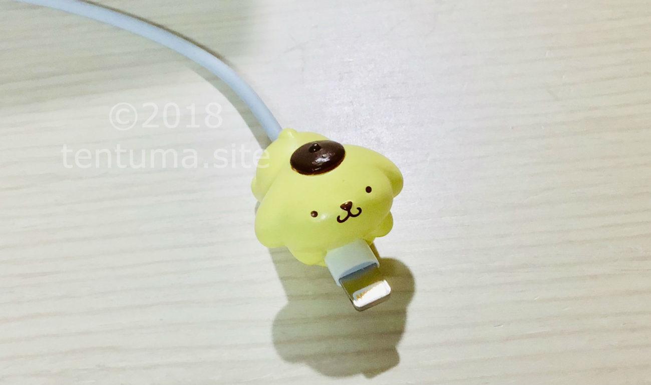 【サンリオ新商品】ポムポムプリンのケーブルバイトがかわいくて便利!