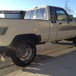 1985 Toyota 4x4 Pickup Truck 4wd Straight Axle 22re 84 85 86 87 88 Pick Up Ca