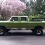 1974 Ford 4x4 Crew Cab High Boy Hulk Cond Go Anywhere