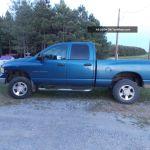 2003 Blue Dodge Ram 2500 4x4 4 Door Diesel Truck