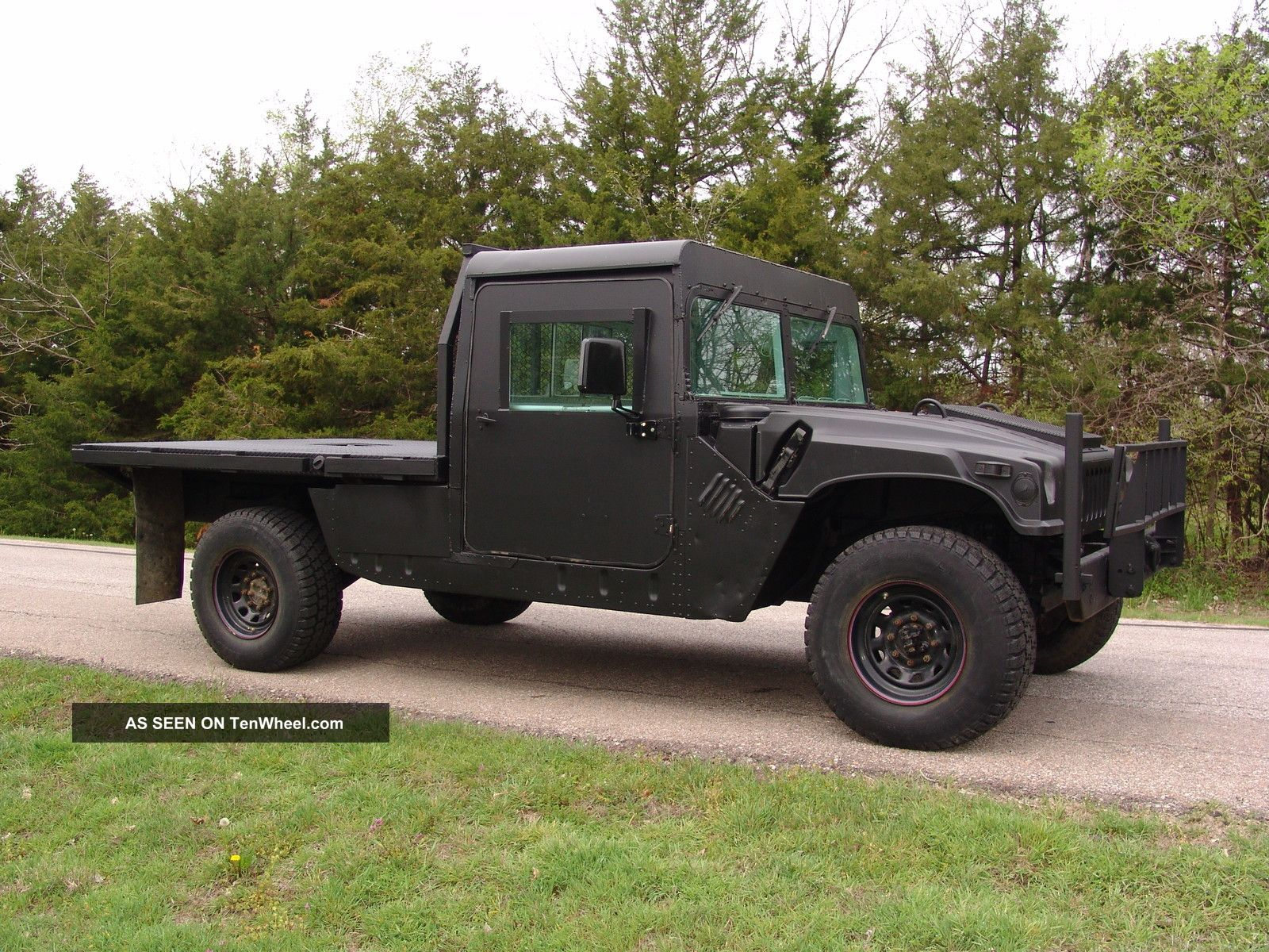 Car Picker black am general Hummer