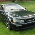 1994 Acura Legend Gs 4 Door Sedan Sherwood Pearl Green 94 Ka7