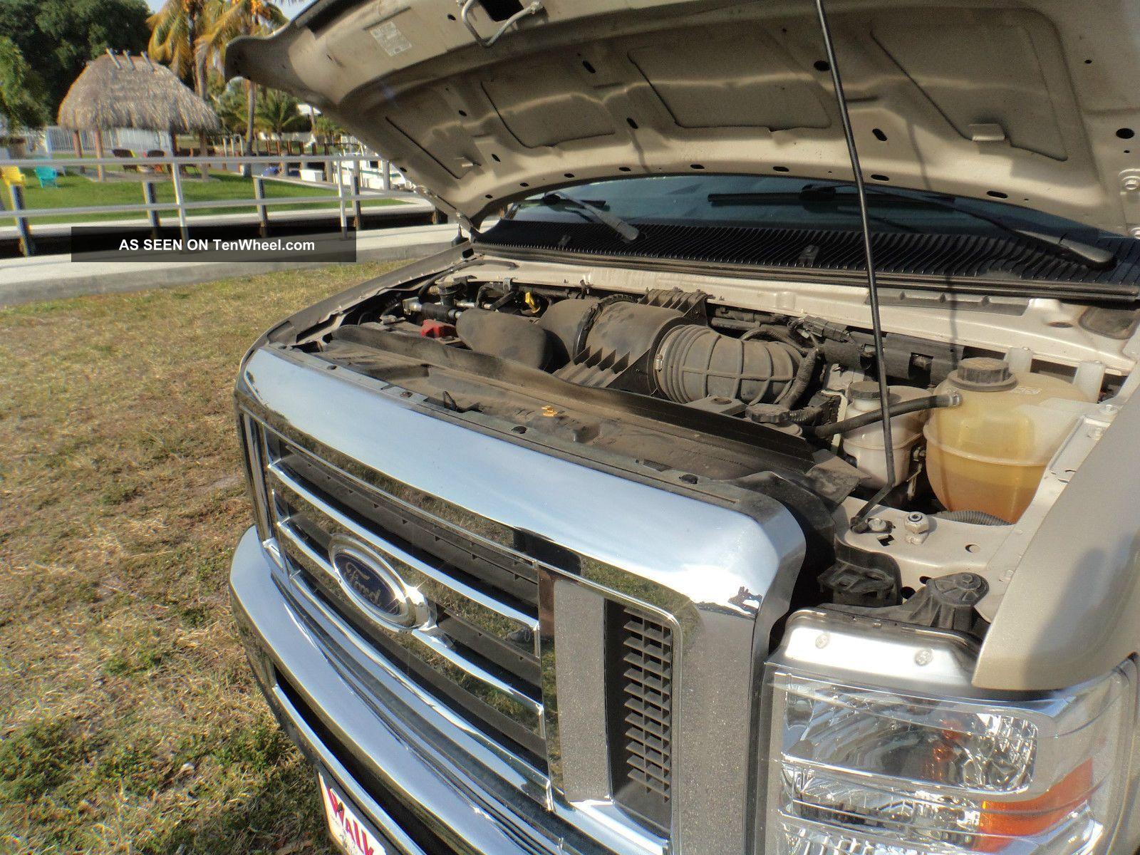 2012 Ford E 350 Duty Xlt Extended Passenger Van 3 Door