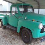 1957 International S 120 4x4 Pick Up Rat Rod