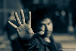 palm five fingers
