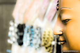 buddha face mask