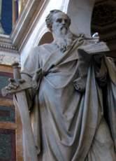 Estátua do  Apóstolo Paulo