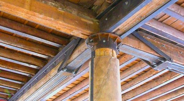 Uso de componentes metálicos para refuerzo estructural