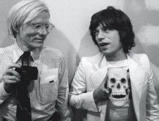 with Mick Jagger