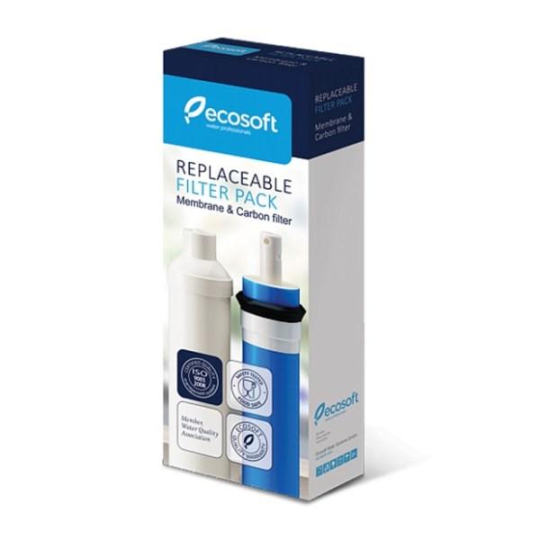 Комплект картриджей Ecosoft 4-5 для фильтра обратного осмоса